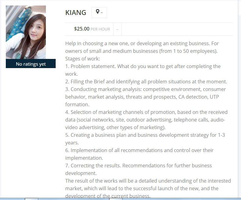 Kiang-Profile